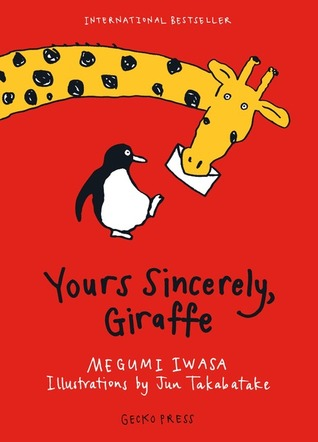 Yours Sincerely, Giraffe cover