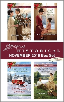 Harlequin Love Inspired Historical November 2016 Box Set: A Convenient Christmas Wedding\Cowboy Creek Christmas\Mail Order Mommy\The Negotiated Marriage