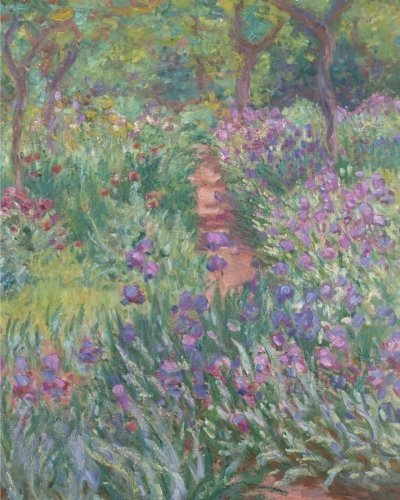 "The Artist's Garden in Giverny: Notebook (8""x10""-Ruled)"