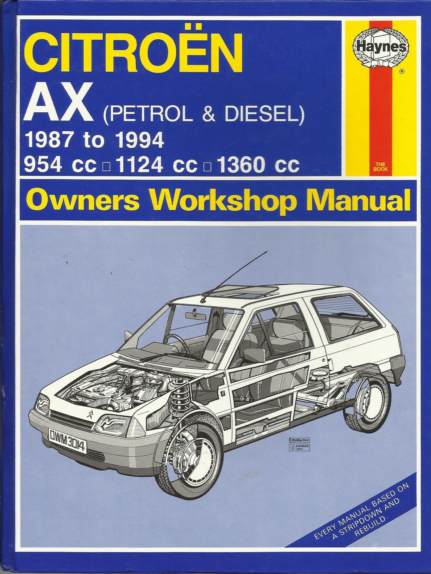 Citroën AX (Petrol & Diesel) Owners Workshop Manual