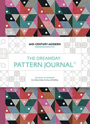 The Original Pattern Journal: Mid-Century Modern - Scandinavian Design: Coloring-in notebook for writing, musing, drawing and doodling