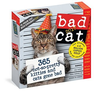 Bad Cat Colour Page-A-Day Calendar 2017 by Workman