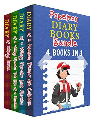 Pokemon Diary Books Bundle: 4 Books in 1: Features Pikachu, Ash, and More! (An Unofficial Pokemon Book)