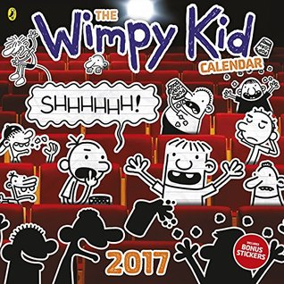 Diary of a Wimpy Kid calendar 2017