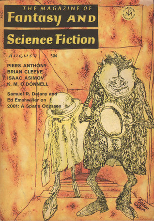 The Magazine of Fantasy and Science Fiction, August 1968 (The Magazine of Fantasy & Science Fiction, #207)