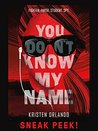 You Don't Know My Name: Chapter Sampler