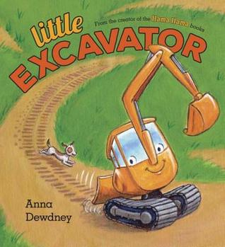 {Tour}: Little Excavator by Anna Dewdney (Review, Mini Swoon + a Giveaway!)
