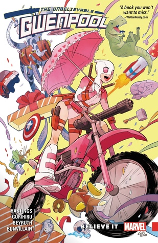 Ebook Gwenpool, the Unbelievable, Vol. 1: Believe It by Christopher Hastings PDF!