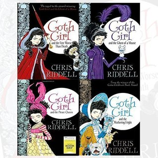 Chris Riddell Goth Girl Series 4 Books Bundle Collection (Goth Girl and the Fete Worse Than Death,Ghost of a Mouse,the Pirate Queen: World Book Day[Paperback],the Wuthering Fright)