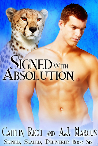 Signed with Absolution (Signed, Sealed, Delivered, #6)