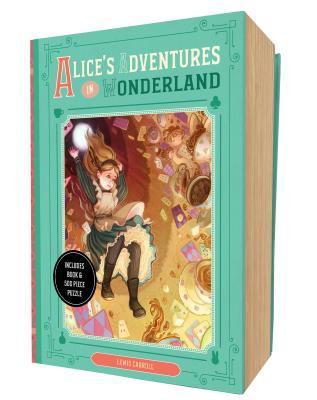 Alice's Adventures in Wonderland Book and Puzzle Box Set