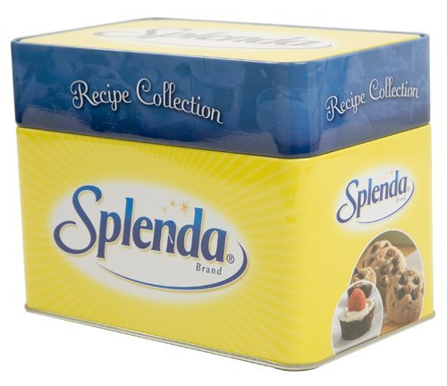 Splenda Recipe Card Collection Box