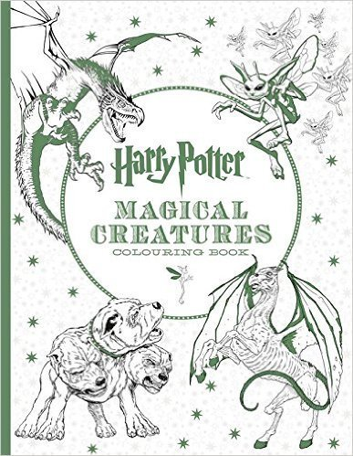 Harry Potter Magical Creatures Colouring Book Paperback - 14 Mar 2016 by NA