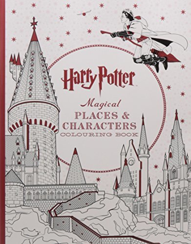 Harry Potter Magical Places &Characters Coloring Book