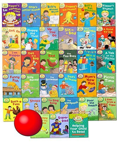 Read With Biff,Chip And Kipper Levels 1 2 3 4 5 6 Oxford Reading Tree Read At Home 50 Books