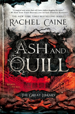 Book Review: Rachel Caine's Ash and Quill