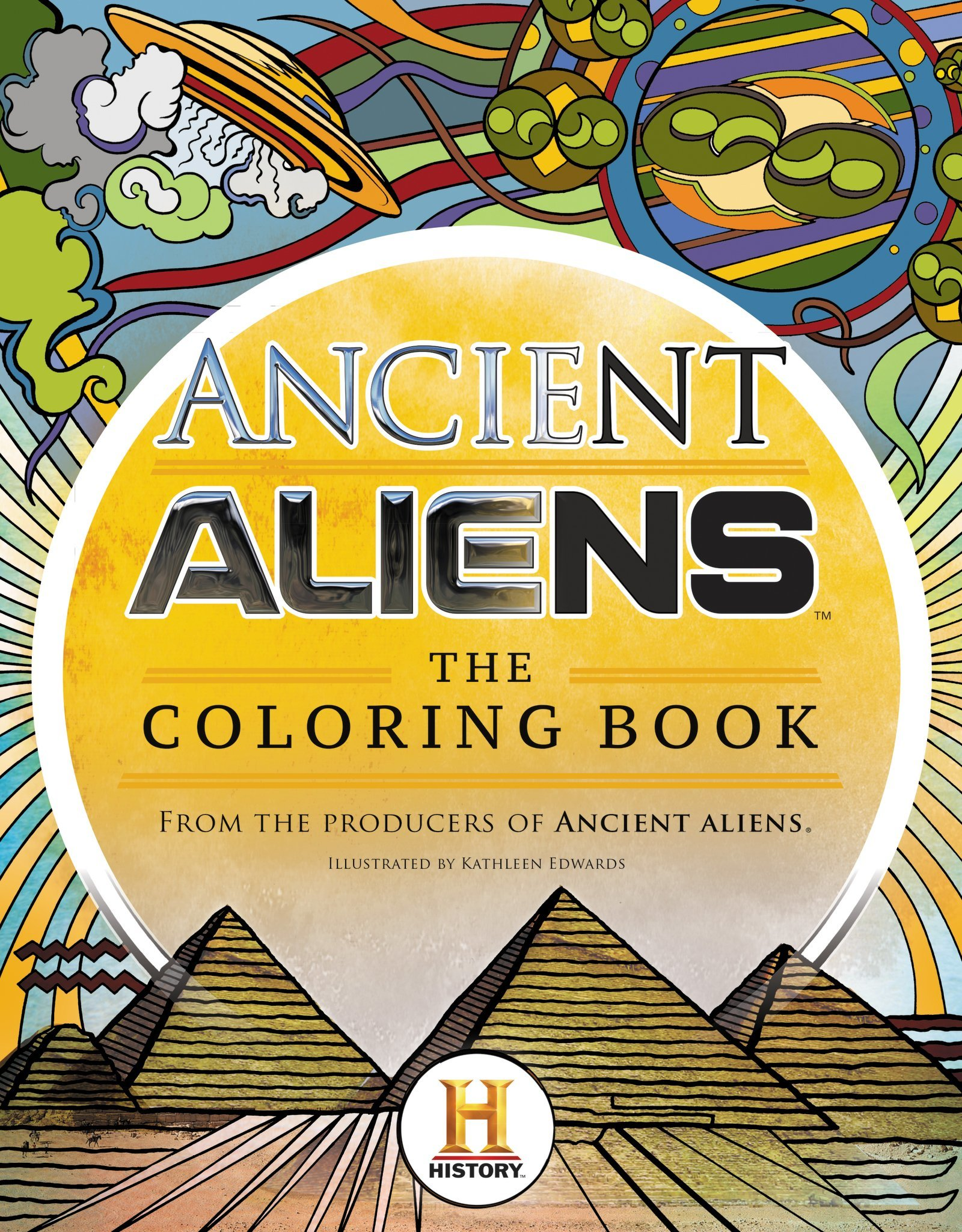 Ancient Aliens: The Coloring Book