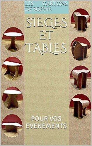 SIEGES ET TABLES: POUR VOS EVENEMENTS