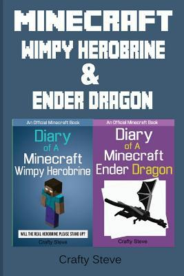 Minecraft: Wimpy Herobrine & Ender Dragon: Herobrine's Quest & Diary of Jean, the Ender Dragon (Minecraft Stories, Minecraft Bundles, Minecraft Boxset, Minecraft Diaries for Kids, Minecraft Adventure Books)