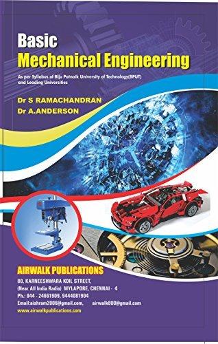 BASIC MECHANICAL ENGINEERING: BPUT-ODISHA