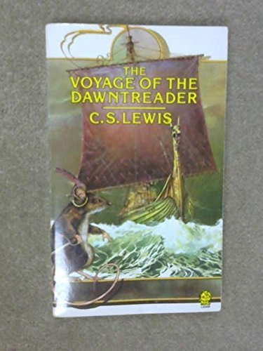 "NOT A BOOK The Chronicles of Narnia 1984 Calendar, Book 3 The Voyage of the ""Dawn Treader"" - SIGNED"