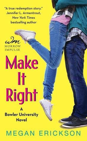 Make it Right by Megan Erickson