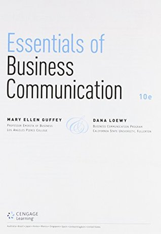 Bundle: Essentials of Business Communication, Loose-Leaf Version, 10th + Premium Website, 1 term (6 months) Printed Access Card + LMS Integrated for ... 1 term (6 months) Printed Access Card
