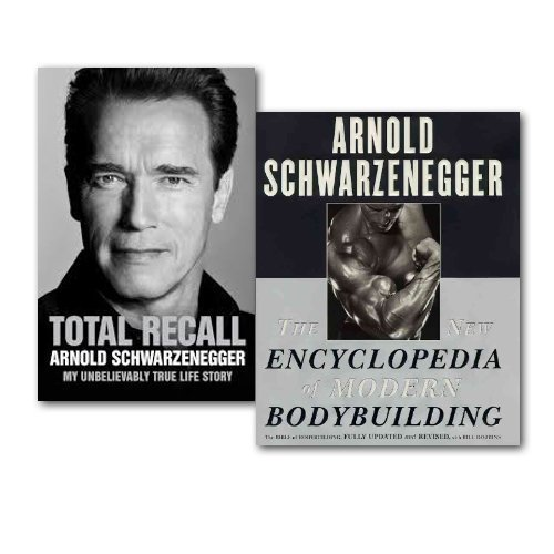 Arnold Schwarzenegger Collection 2 Books Set,
