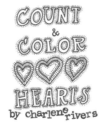 Count and Color Hearts