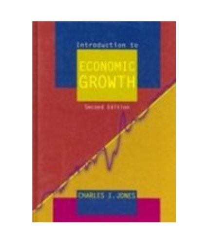 Introduction to Economic Growth 2nd/ed