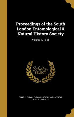 Proceedings of the South London Entomological & Natural History Society; Volume 1919-21