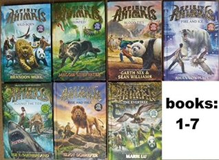 Spirit Animals Series SET , Books 1-7 . #1. Wild Born , #2. Hunted , #3. Blood Ties, #4. Fire and Ice, #5. Against the tide, #6 Rise and Fall, #7. The evertree