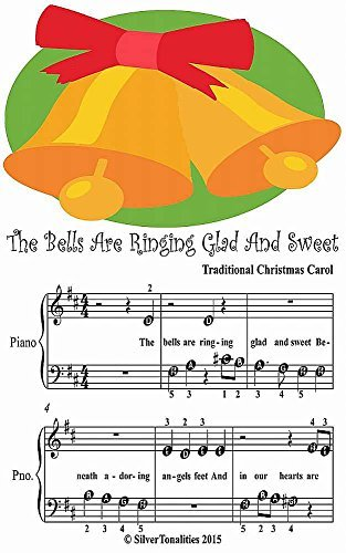 Bells Are Ringing Glad and Sweet Beginner Tots Piano Sheet Music
