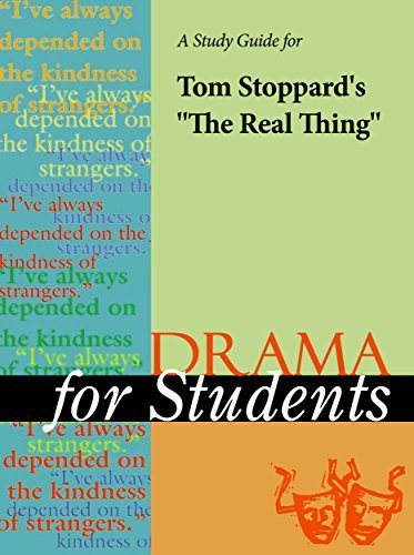 """A Study Guide for Tom Stoppard's """"The Real Thing"""""""