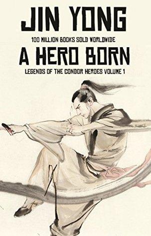 book cover shows hero wielding sword.