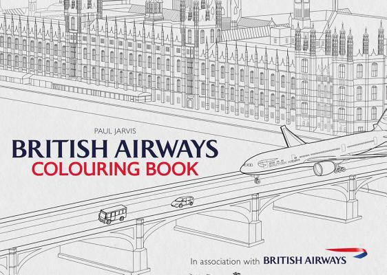 British Airways Colouring Book