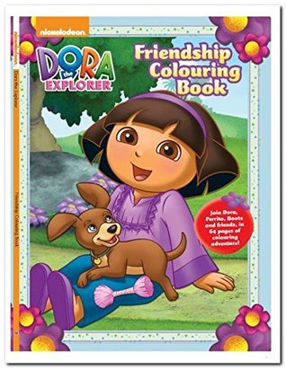 Dora Friendship Colouring Book