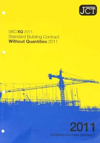 JCT 2011: Standard Building Contract without Quantities