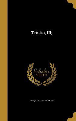 Tristia, III;