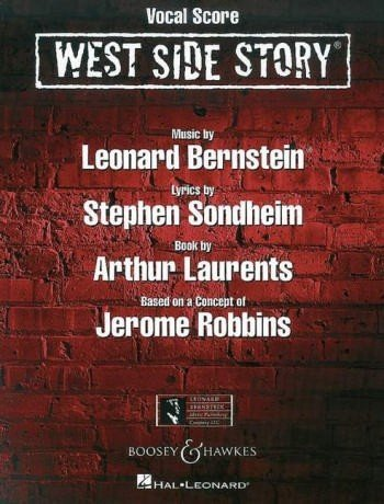West Side Story (New Edition) - Musical - vocal/piano score