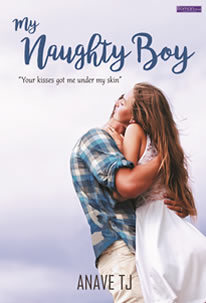 Naughty boys start with kissing