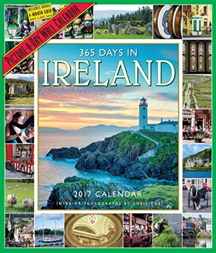 365 Days in Ireland Picture-A-Day Wall Calendar 2017