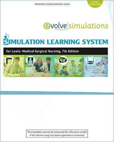 Simulation Learning System For Lewis: Medical-Surgical Nursing