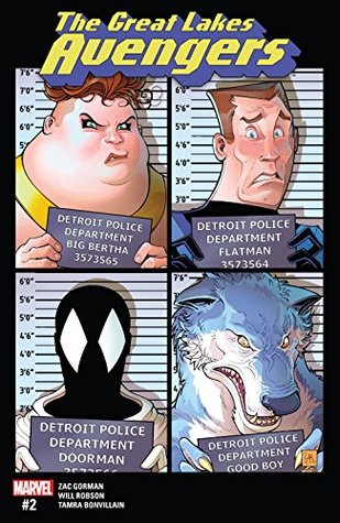 Great Lakes Avengers (2016-) #2