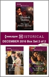 Harlequin Historical December 2016 - Box Set 2 of 2: The Saxon Outlaw's Revenge / Married for His Convenience / In Debt to the Enemy Lord