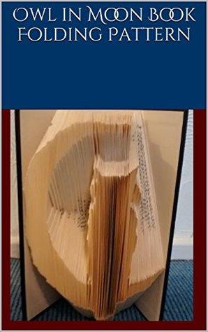 Owl in Moon Book Folding Pattern
