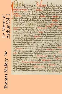 Le Morte D' Arthur, Vol. I