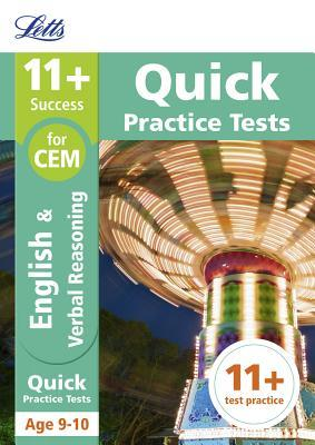 Letts 11+ Success – 11+ Verbal Reasoning Quick Practice Tests: for the CEM tests: Age 9-10