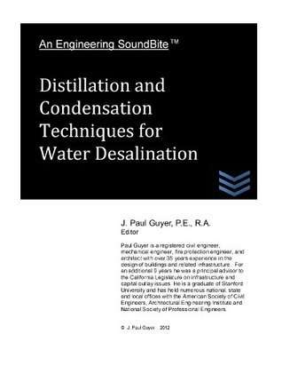 Distillation and Condensation Techniques for Water Desalination