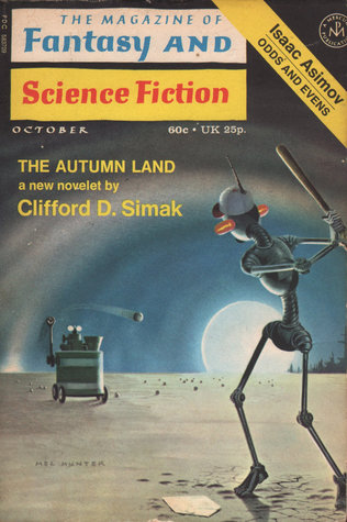 The Magazine of Fantasy and Science Fiction, October 1971 (The Magazine of Fantasy & Science Fiction, #245)